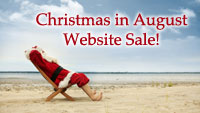 Christmas In August Website Sale