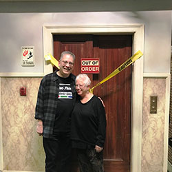 Bill Prady & Janis fail to fix The Big Bang Theory elevator