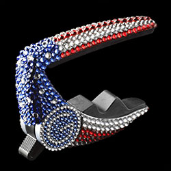 G7th Performance Capo covered in Swarovski Crystal Elements