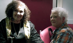 Janis and Dame Cleo Laine