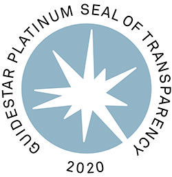 Guidestar Platinum Seal of Transparency 2020 for The Pearl Foundation