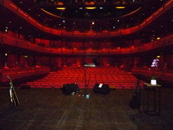 The beautiful Lowry Theatre
