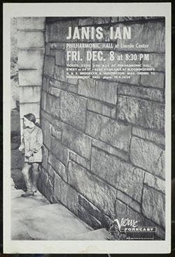 Janis Ian Philharmonic Hall NY